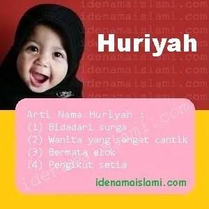 arti nama Huriyah