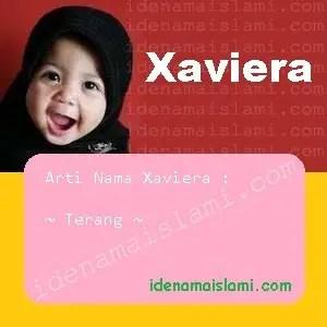 arti nama Xaviera