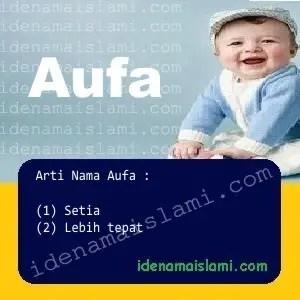 arti nama Aufa