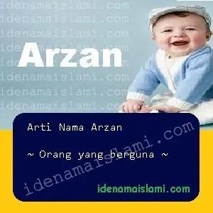 arti nama arzan