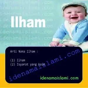 arti nama Ilham