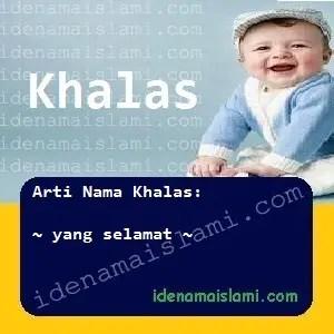 arti nama Khalas