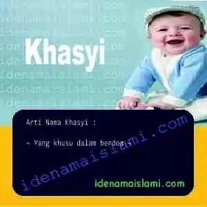 arti nama Khasyi