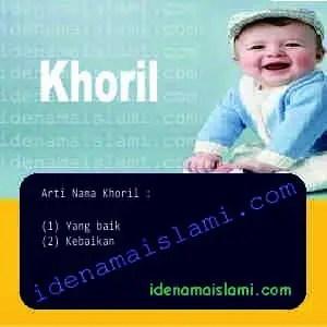 arti nama Khoril