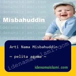 arti nama Misbahuddin