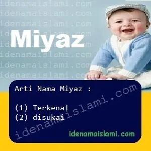arti nama Miyaz