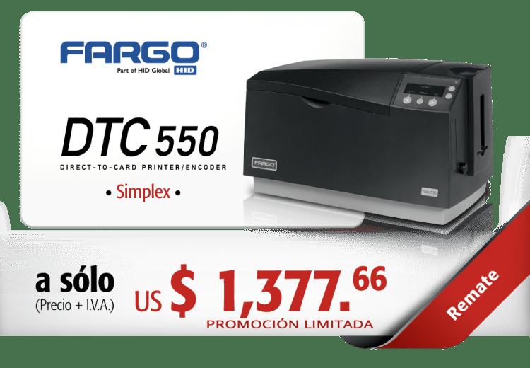REMATE-FARGO-DTC550-SIMPLEX