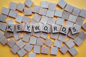 Palabra clave de un texto Keywords