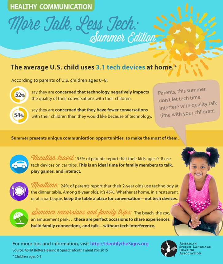 More Talk, Less Tech: Summer Edition