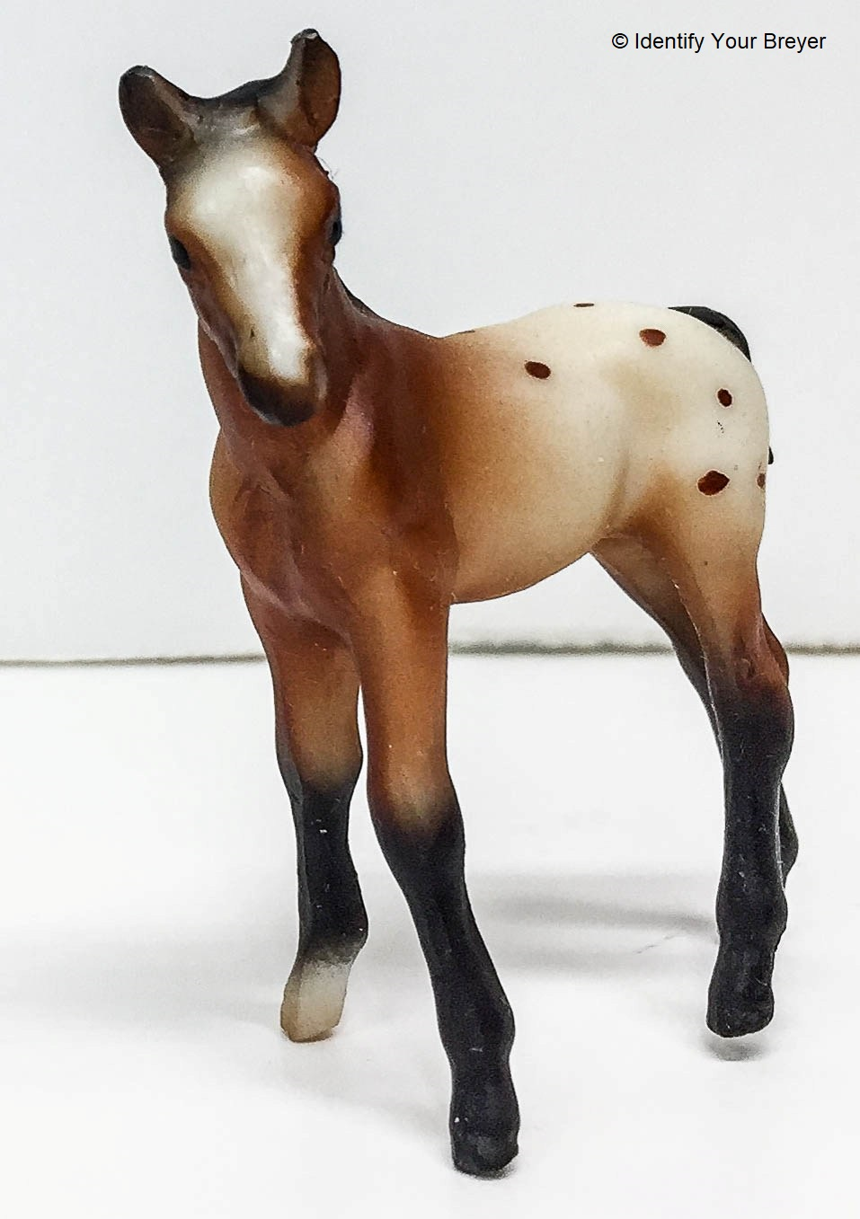 Identify Your Breyer Thoroughbred Standing Foal