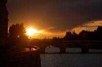 Paris - seine de nuit
