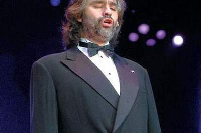 Andrea Bocelli, un ténor à la voir d'or en Israel, en juin 2011