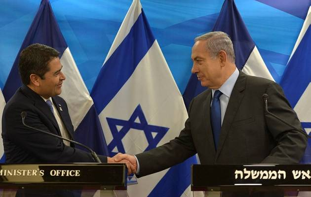 Le président hondurien «ne capitulera pas devant les menaces anti-israéliennes».