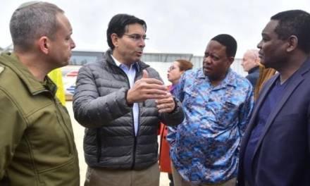 Les ambassadeurs de l'ONU visitent un tunnel pour terroristes du Hamas et le système de défense israélien du dôme de fer