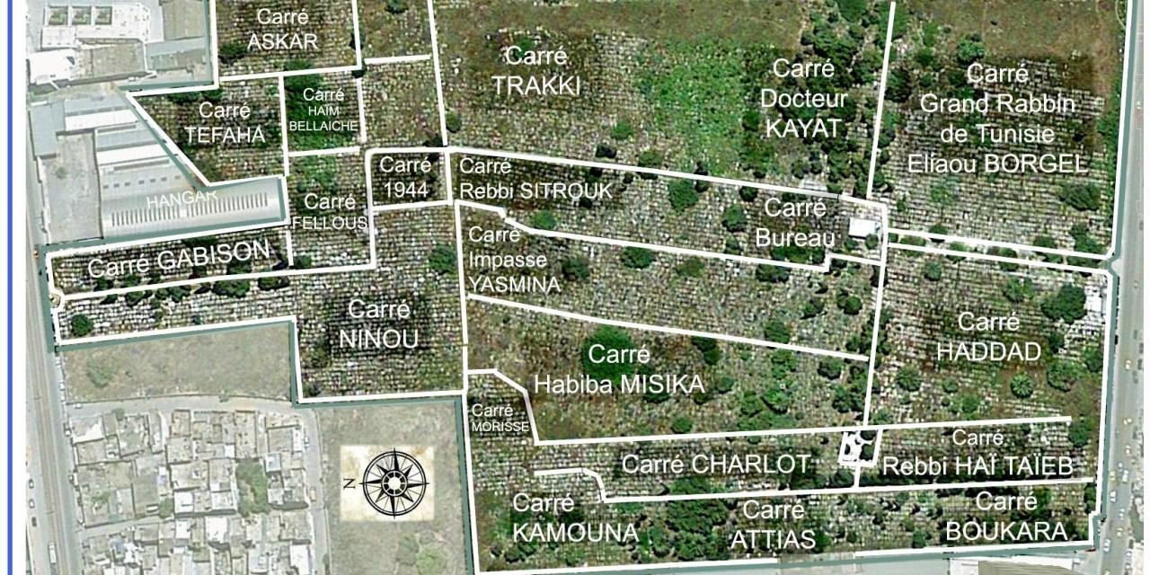 Les autorités tunisiennes étudient la possibilité de  l'expropriation du cimetière  israélite de Borgel