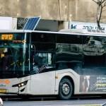 Des autobus électriques qui se rechargent en continu DANS LA VILLE de Tel-Aviv