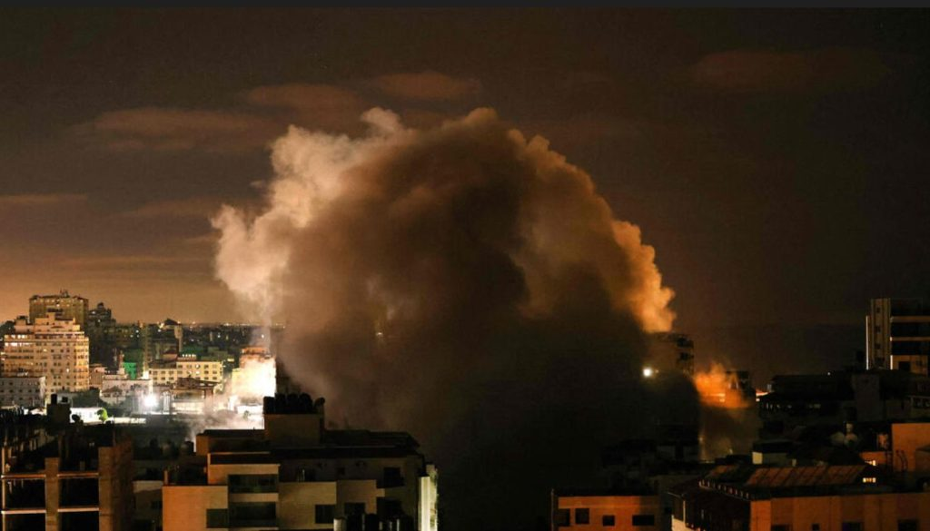 Une frappe des FDI sur Gaza dans la nuit de samedi à dimanche