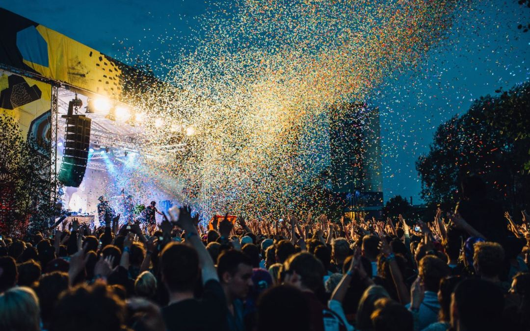 music festival crowd iso republic
