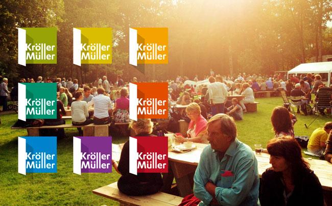 Kroller-Muller Museum brand identity