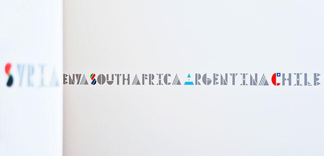 Multinational typeface