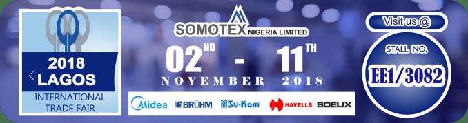 2018 Lagos International trade fair