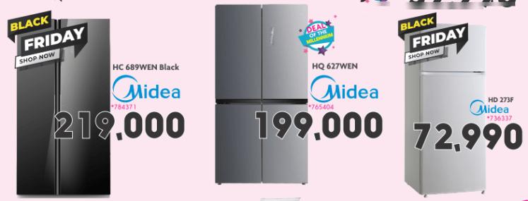 Midea double-door refrigerators