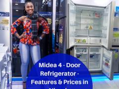 Midea 4 - Door Refrigerator -Features & Prices in Nigeria