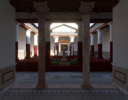 Villa Romana de Salar 3D