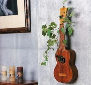 hiasan dinding kamar tidur gitar dinding