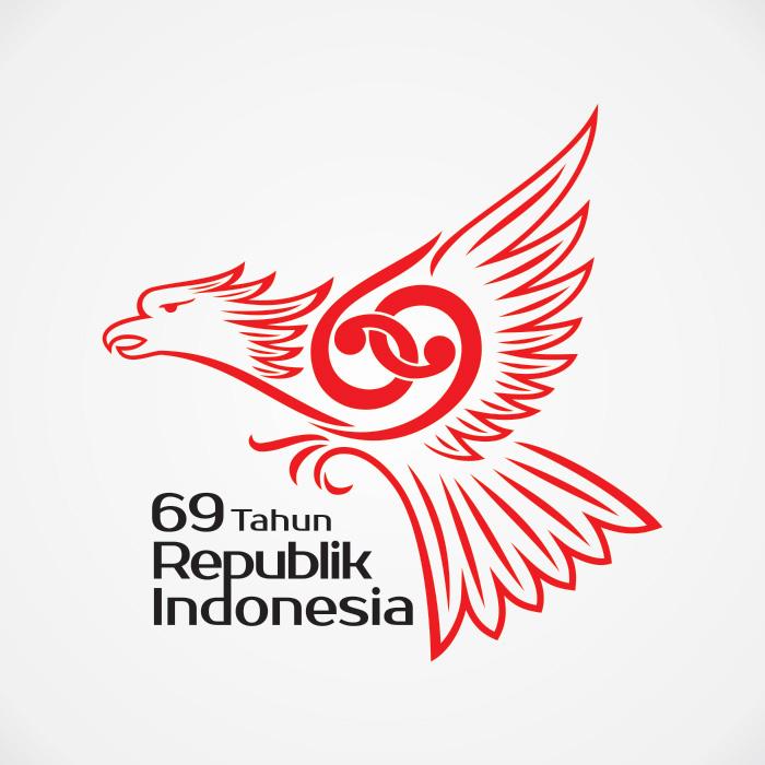 Logo HUTRI ke-69
