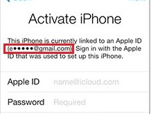 iCould ID find apple id