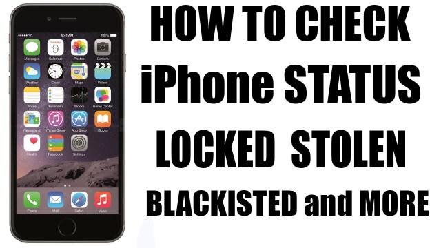 free-blacklist-check iPhone