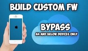 Create iOS 9.2.1 Custom Firmware iCloud Bypass