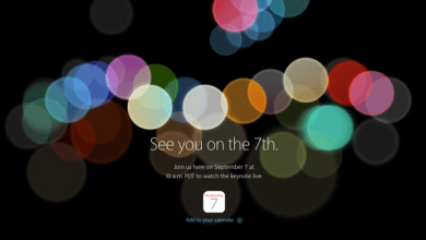Apple Keynote 7 September:
