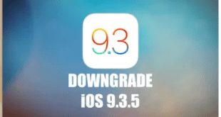 DOWNGRADE IOS 9.3.5