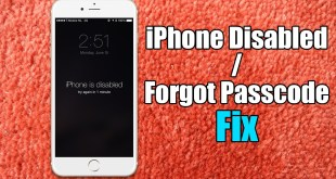 iphone passcode disabled