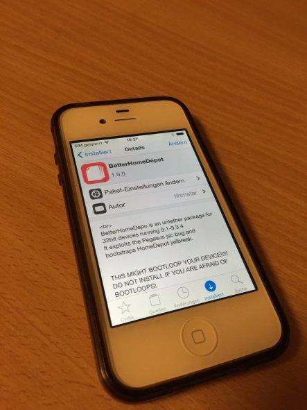 9.3.4 untethered jailbreak running on iPhone 4s