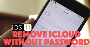 Remove icloud using itunes backup ios11 iphone8