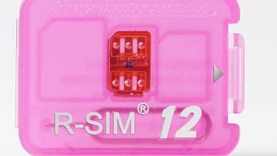 R SIM 12 Unlock iphoneiOS 11 LTE 4G
