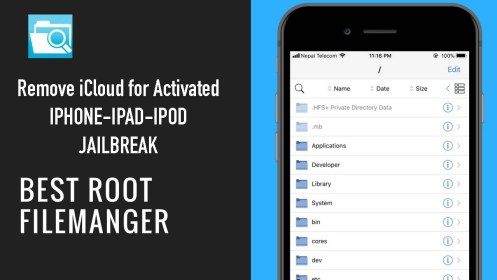 How remove icloud for all jailbroken devices