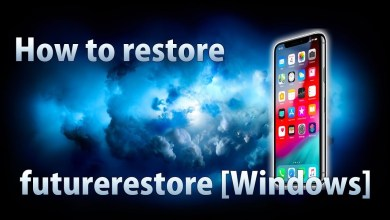 Restore iOS 11.x - 12.x to 12.2 using futurerestore with SHSH2 Blobs (Windows)