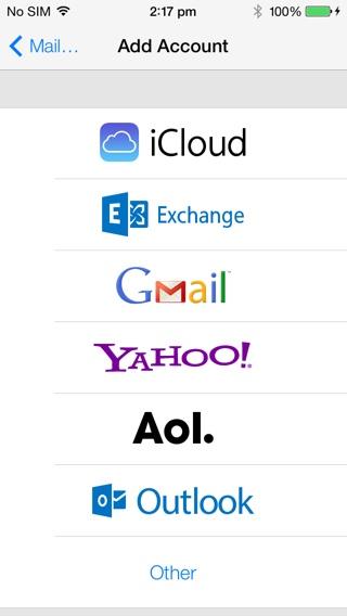 Exchange Icon di iOS 7 Beta 2