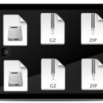 Cara Kompres Data dalam fromat zip tar dmg di OS X