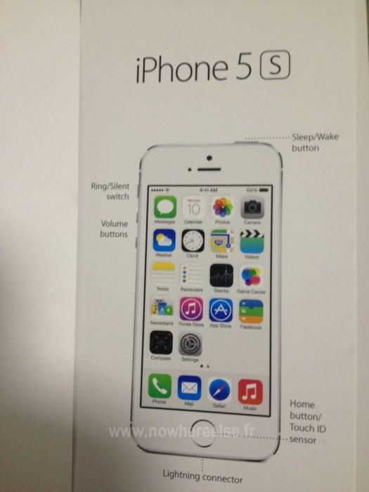 Inilah Manual iPhone 5S