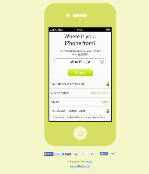 Check iPhone berasal dari mana Online