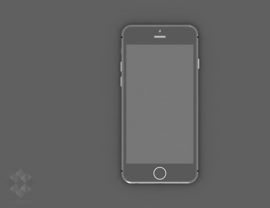 Gambar Render Digital iPhone 6 karya Mark Pelin ~ 3