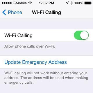WiFI Calling - iOS 8 Beta 3