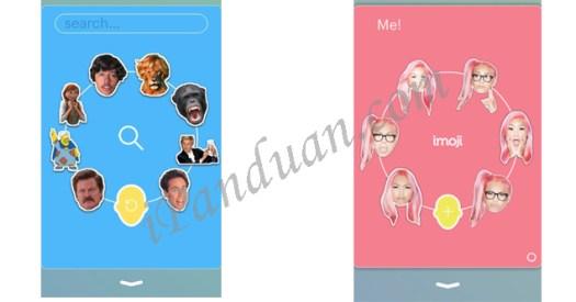 Download aplikasi iOS, iMoji, Appstore Emoji