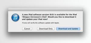 Update Lewat iTunes di Komputer