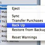 iPhone, cara backup data, iTunes, iOS